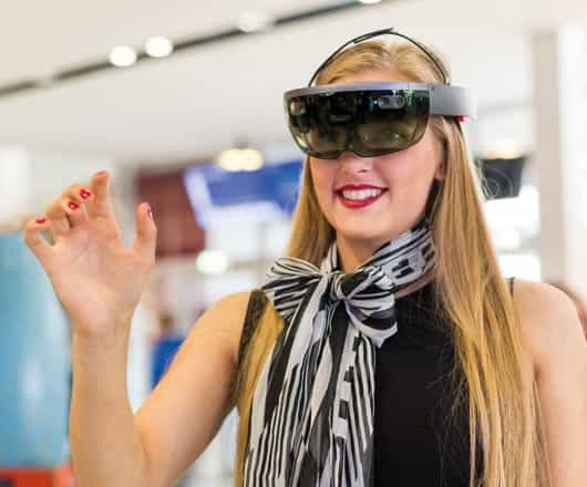 Hololens vrouw