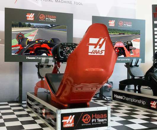 formule 1 race simulator