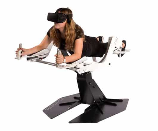 VR Motion Flight Simulator