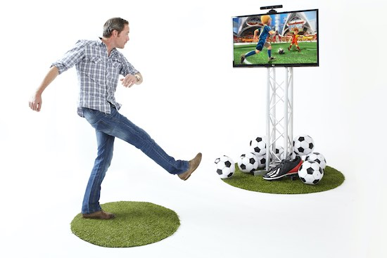 Voetbal Kinect games